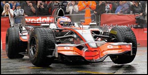 Jenson Button in McLaren MP4-23
